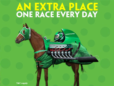 Paddy Power extra place special