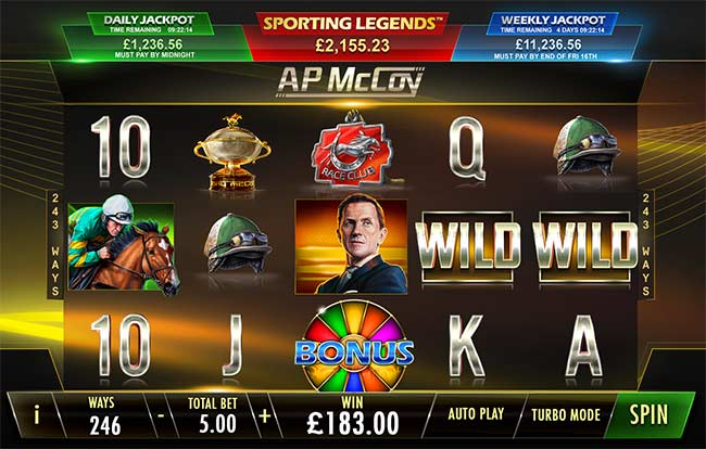 Playtech Increases Sporting Legends Series With AP McCoy Slot