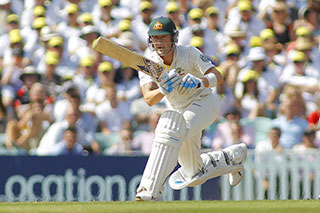 Michael Clarke batting