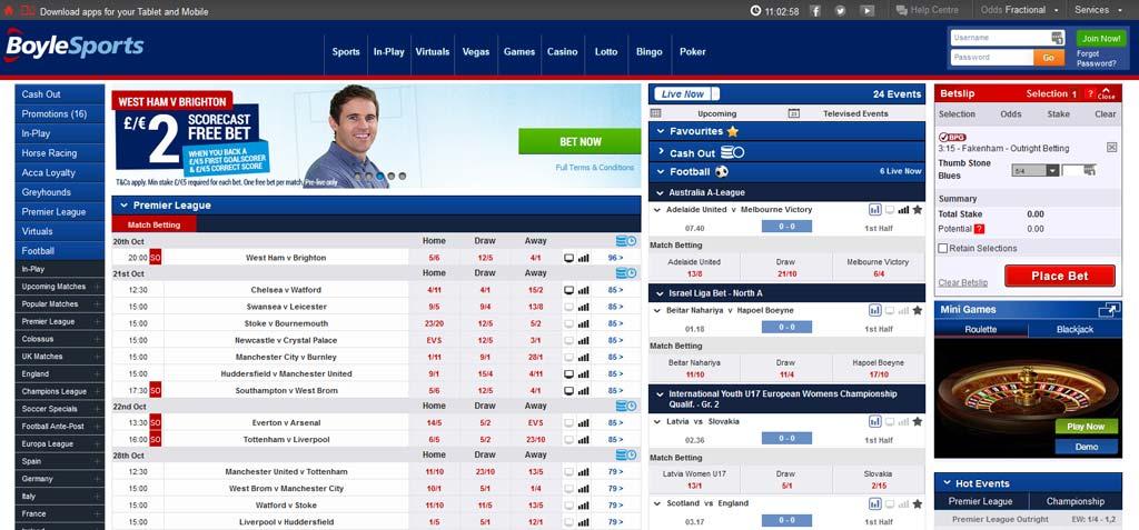 Boylesports betting rules in poker optimum otrackbetting