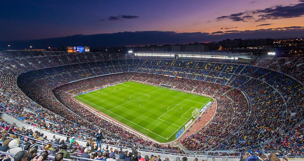 Camp Nou stadium